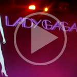 Lady Gaga performs 'Just Dance' live at TigerHeat
